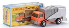 Matchbox Superfast MB7-c Ford D series Refuse Truck