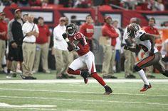 Such a versatile and talented player! SO glad he's an Atlanta Falcon! Atlanta Falcons, Athletes