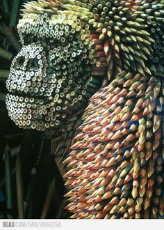 How cool is this Pencil Art?