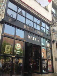 Brit's Pub & Eating Establishment in Minneapolis, MN
