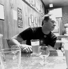 Ninkasi Brewing's co-Owner Jamie Floyd, relaxing at Big Time Brewery & Alehouse, during Seattle Beer Week.