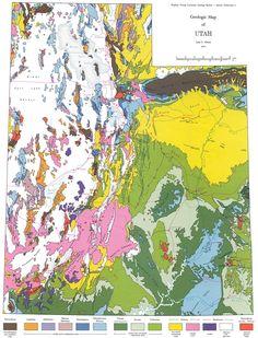 Utah Geologic Map.