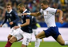 France 2-1 Portugal: Pogba and Benzema on target for Les Bleus