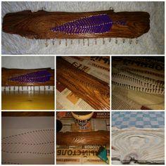 Красивое, а также полезное украшение для интерьера. String Art