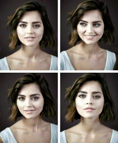 jenna coleman is literally perfection <3 Photographed by Andrew Gotts