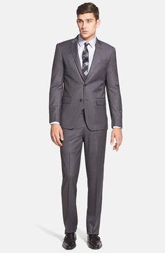 John Varvatos Star USA Trim Fit Wool Suit | Nordstrom