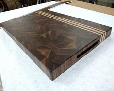 Butcher Block Walnut Maple End Grain Cutting Board Et Yemekleri