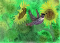7/27/14 SIP OF SUN by Julie Payne done in My Brushes Pro