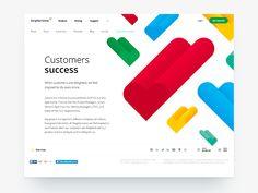 Customers Success by lllllllll #Design Popular #Dribbble #shots