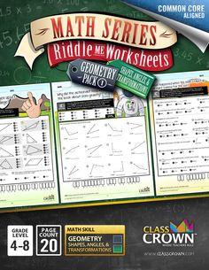 about Math Worksheets (Math Series) on Pinterest | Fun math worksheets ...