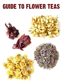 A guide to the medicinal benefits of different types of flower teas