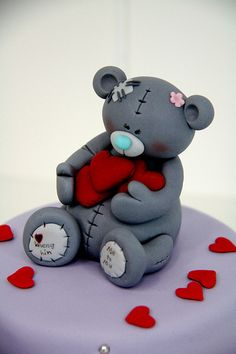 A Tatty Teddy (my new fave bear) as a cake!!!