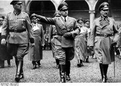 Daluege, Hans Frank, Kurth von Gienanth (Bild Bundesarchiv Berlin Polen ca 1939)