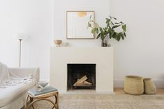 10 Examples of Contemporary, Minimalist Fireplaces from the Remodelista Archives