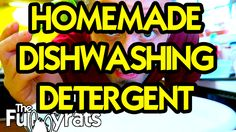 In this video, I show you how to make homemade dishwashing detergent so that you can save some money at the store!