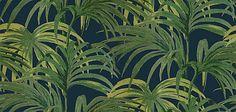House Of Hackney Palmeral Midnight/Green Wallpaper main image