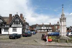 Sandbach, Congleton, Cheshire, England. 1250, 1230, 1190, 1170