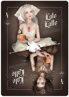Coffee Inn Late Latte on Behance