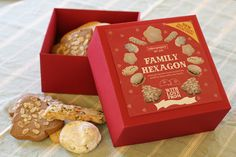 Make your own 'Family Hexagon' biscuit selection box this Christmas