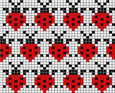 Mittens with jacquard – 'Winter Rainbow' Fair Isle Knitting Patterns, Knitting Charts, Loom Patterns, Knitting Stitches, Beading Patterns, Baby Knitting, Crochet Patterns, Loom Knitting, Free Knitting