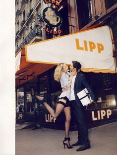Natasha Poly, Styled by Emmanuelle Alt, photographed by Terry Richardson