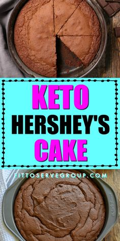 This Keto Hersheys Chocolate Cake is a great alternative to the original recipe. It is just as rich-tasting and easy to make. Having the ability to enjoy a classic chocolate cake without the worry of it causing you to slip. keto Hershey s chocolate cake Desserts Keto, Sugar Free Desserts, Keto Snacks, Dessert Recipes, Dessert Ideas, Cake Recipes, Hershey Chocolate Cakes, Sugar Free Chocolate Cake, Low Carb Deserts