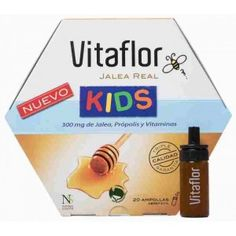 VITAFLOR JALEA REAL KIDS 20 AMPOLLAS