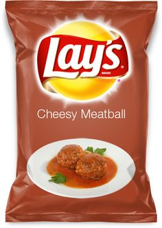 Repin if you want lays to make this flavor! Cheesy Meatball