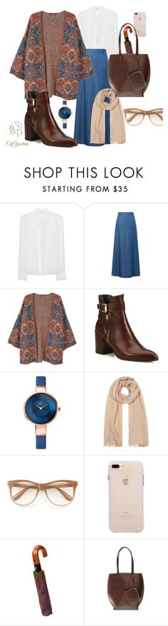 """hijab"" by elifyuceturk ❤ liked on Polyvore featuring Diane Von Furstenberg, WithChic, MANGO, Stuart Weitzman, Johnstons of Elgin, Wildfox and Patricia Nash"