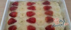 Dort s ovocem a želatinou Pudding, Desserts, Tailgate Desserts, Deserts, Puddings, Postres, Dessert, Plated Desserts