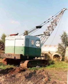 Earth Moving Equipment, Construction Images, Bucyrus Erie, Crawler Crane, Shovel, Tractors, Trucks, Dustpan, Truck