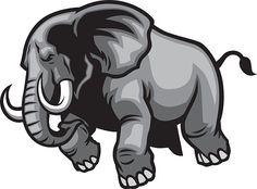 Image result for charging elephant Poker Tattoo, Mexico Art, Elephant Logo, Cute Baby Cats, Cool Logo, Logo Inspiration, Color Schemes, Cool Art, Logo Design