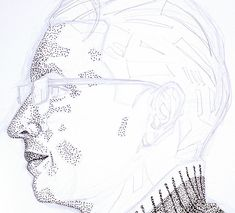 How to Create a Hand Drawn, Pointillism Portrait