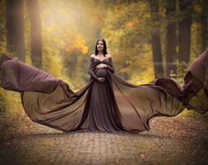 Iberia Dress/ Maternity Gown/ Maternity Dres/ Photography