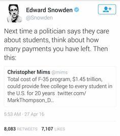 #politic #Snowden  #USA #interesting #Tweet