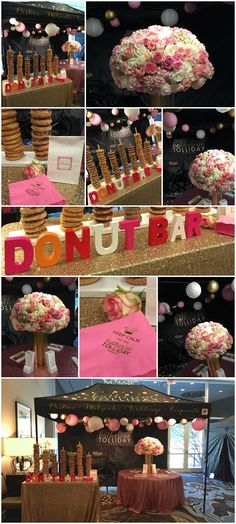 If you're looking for a cute idea for a dessert station or a take-home favor, maybe this is for you – a donut bar! We set this up at the Mitzvah Expo this weekend and it was a real hit! Ideally, it works best with a server – then all you need is a stand, …
