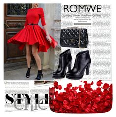 """Romwe 2/I"" by merima-p ❤ liked on Polyvore featuring Stop Staring!, women's clothing, women's fashion, women, female, woman, misses and juniors"