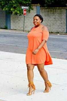 sandee joseph - Plus Size Fashion #slimmingbodyshapers Plus Size Cover-Up curvy, plus size, curves, real women, plus size fashionistas slimmingbodyshapers.com
