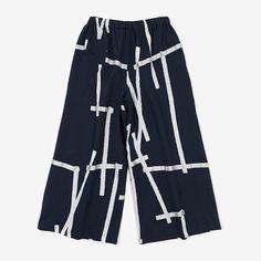 Wide Pants Kite Muslin Wool : SOU • SOU US Online Store