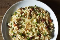 Lemon and Toasted Almond Risotto Recipe on Food52 recipe on Food52