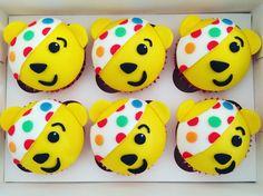 Pudsey bear children in need cupcakes Children In Need Cupcakes, Bear Cupcakes, The Brambles, Cup Cakes, Westminster, Hospitality, Lemonade, Fundraising, Cake Ideas