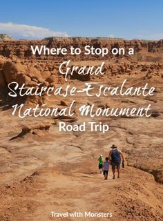 On a southern Utah road trip, you need to know the best places to stop. Don't miss these gorgeous sights on your way to Grand Staircase-Escalante National Monument Escalante Utah, Escalante National Monument, Bryce Canyon, Death Valley, Capitol Reef National Park, National Parks, Arches Nationalpark, Arizona, Utah Vacation