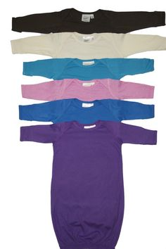 Check out our line of babiez' clothes, bedding & accessories made from bamboo, cotton & soy for antibacterial protection, moisture absorbency, & breathability. Nighties, Unique Outfits, Baby Registry, Bamboo, Onesies, Pajamas, Pajama Pants, Purple, Clothing