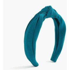 J.Crew Grosgrain Topknot Headband ($25) ❤ liked on Polyvore featuring accessories, hair accessories, head wrap hair accessories, j crew hair accessories, hair band accessories, headband hair accessories and grosgrain headbands