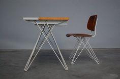 Mid Mod Design » Coen de Vries Pilastro desk chair Holland 1956