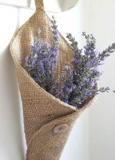 Lavander basket and other ideas.