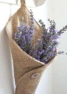 Lavander basket and other ideas.