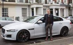 Steve Huntingford with his Jaguar XE