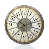 """Found it at Wayfair - Oversized 23"""" Louvre Large Wall Clock"""