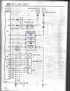 18+ Toyota 4Age Engine Wiring Diagram - Engine Diagram - Wiringg.net Toyota, Sheet Music, Engineering, Diagram, 18th, Age, Technology, Music Sheets
